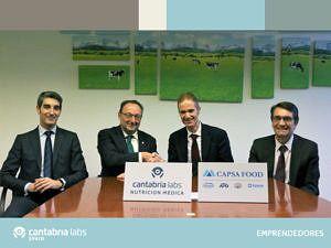 firma del acuerdo con CAPSA