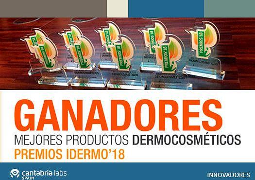 Cantabria Labs gana nueve premios iDermo