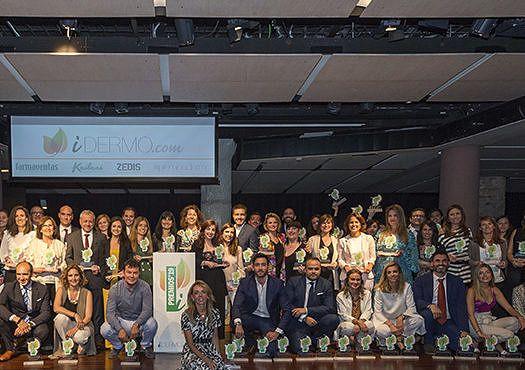 Cantabria Labs galardonada con 8 premios iDermo