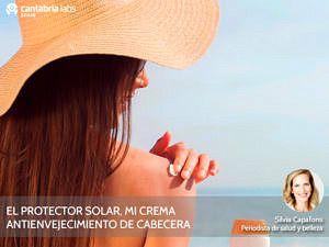 Protector solar como crema antienvejecimiento