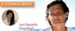 La Dra. Lorea Bagazgoitia nos habla de fotoenvejecimiento