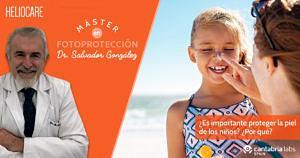 Protección solar para los niños