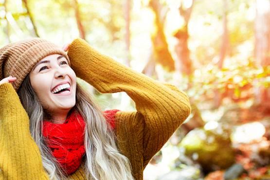 Usar fotoprotector solar en otoño