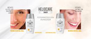 Heliocare 360º Age Active y Pigment Solution, fotoprotección avanzada antiedad y antimanchas