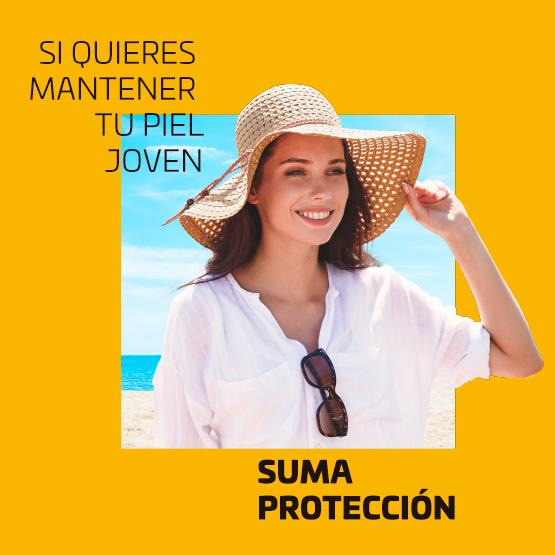Si quieres mantener tu piel joven, suma protección
