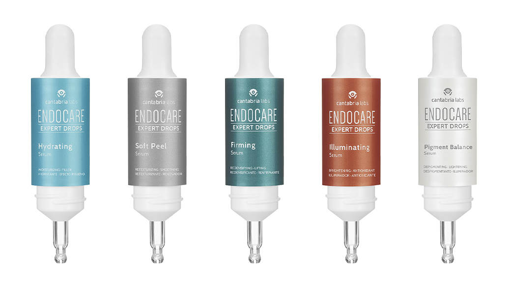 ampollas Endocare Expert Drops hydrating Protocol